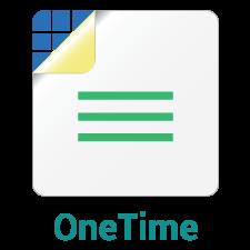 Onetime com